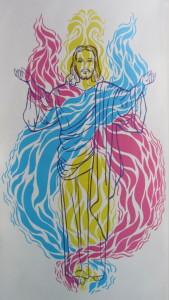 Christ Self in 3 Fold Flame